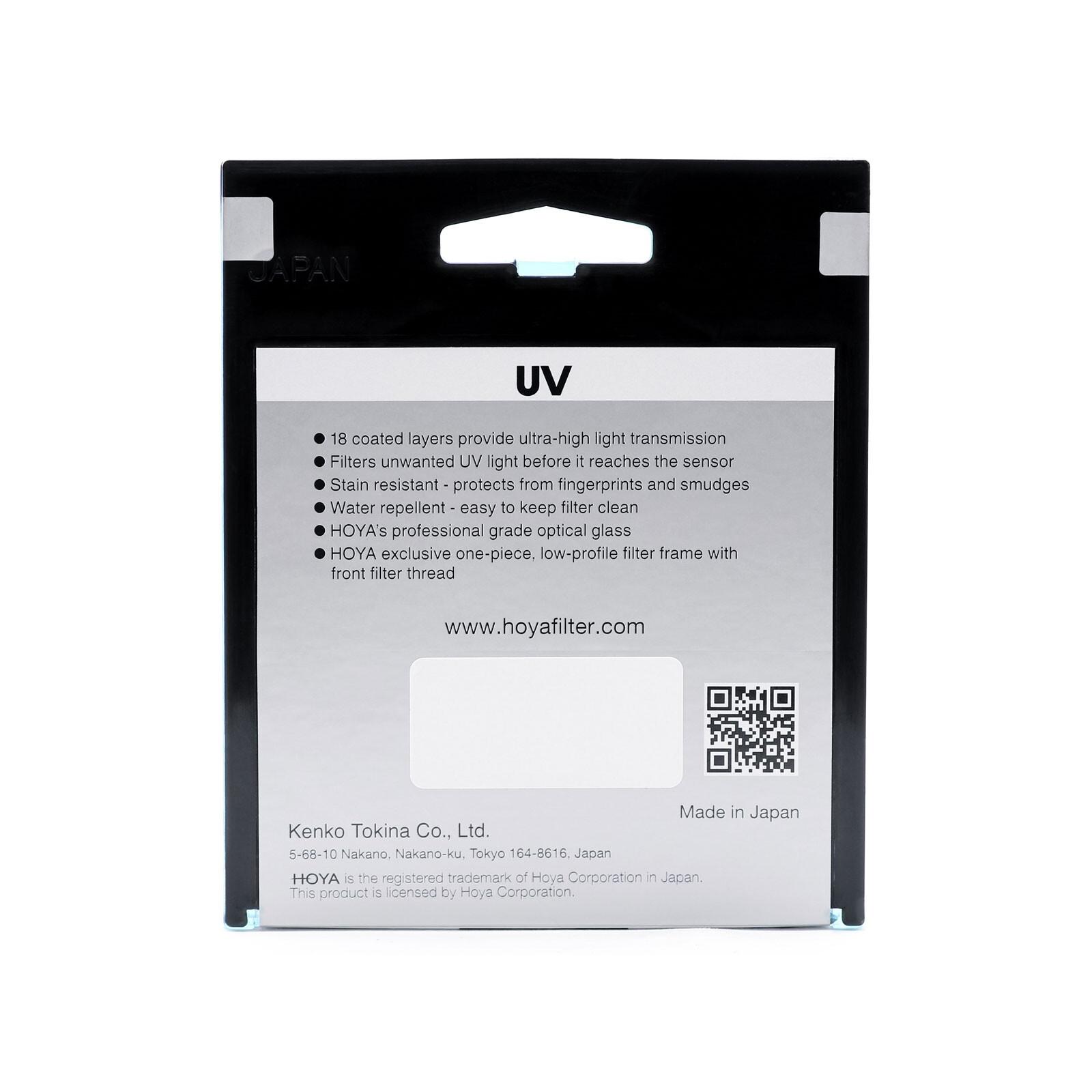 Hoya Fusion One UV
