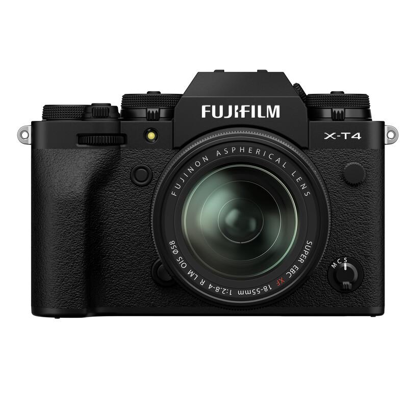 Fujifilm X-T4 black + XF 18-55/2,8-4,0 R LM OIS