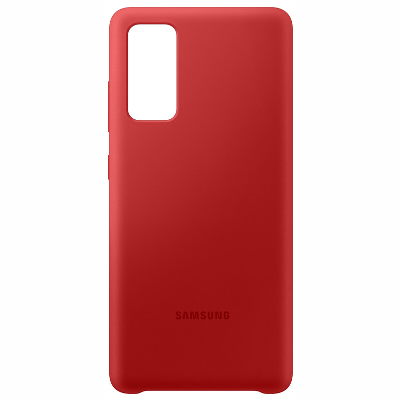 Samsung Silicone Cover Galaxy S20 FE rot