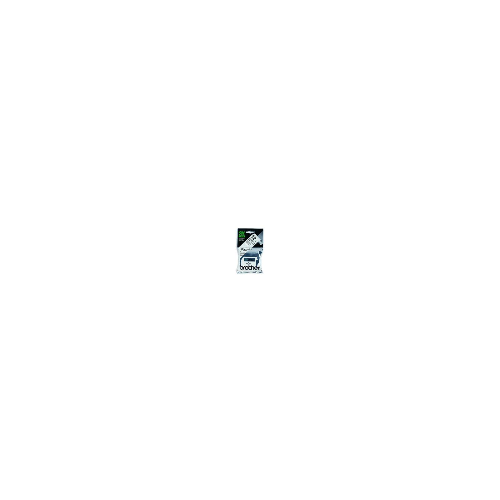 Brother M-K231BZ Schriftband weiss/schwarz 12mm