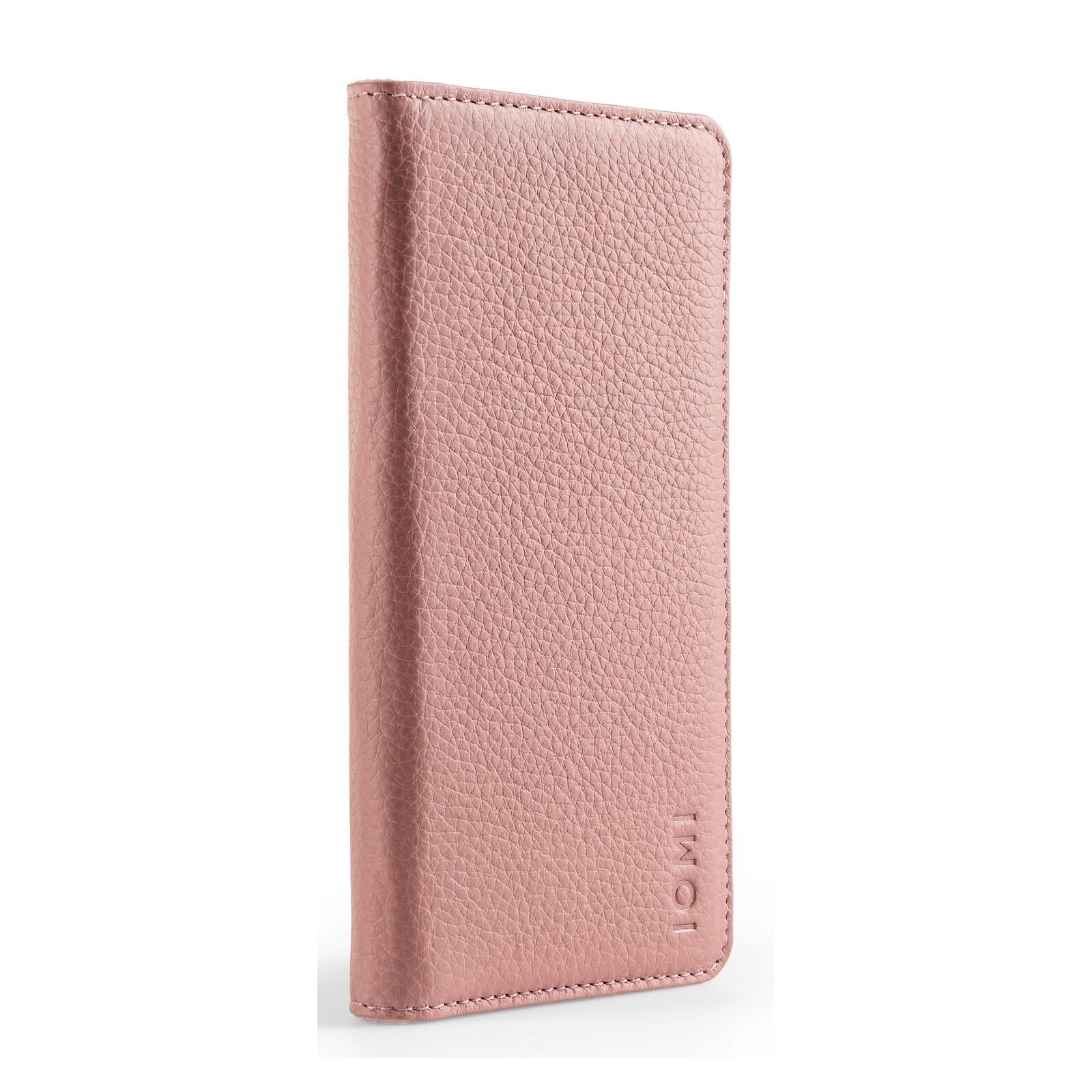 IOMI 2in1 Book Case Apple iPhone XS rose