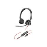 Poly Plantronics Blackwire 3325 USB-A Stereo Headset
