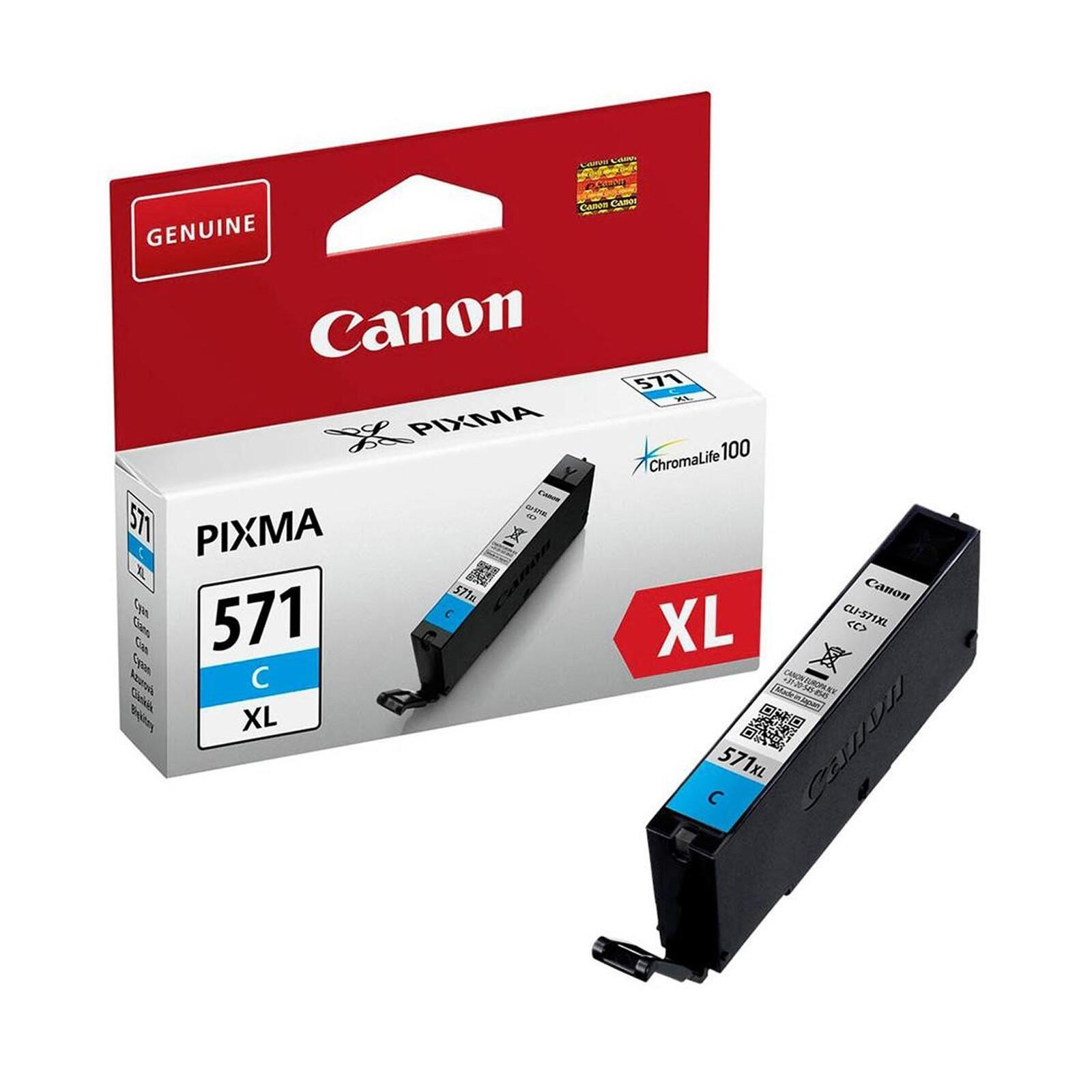 Canon CLI-571XLC Tinte Cyan