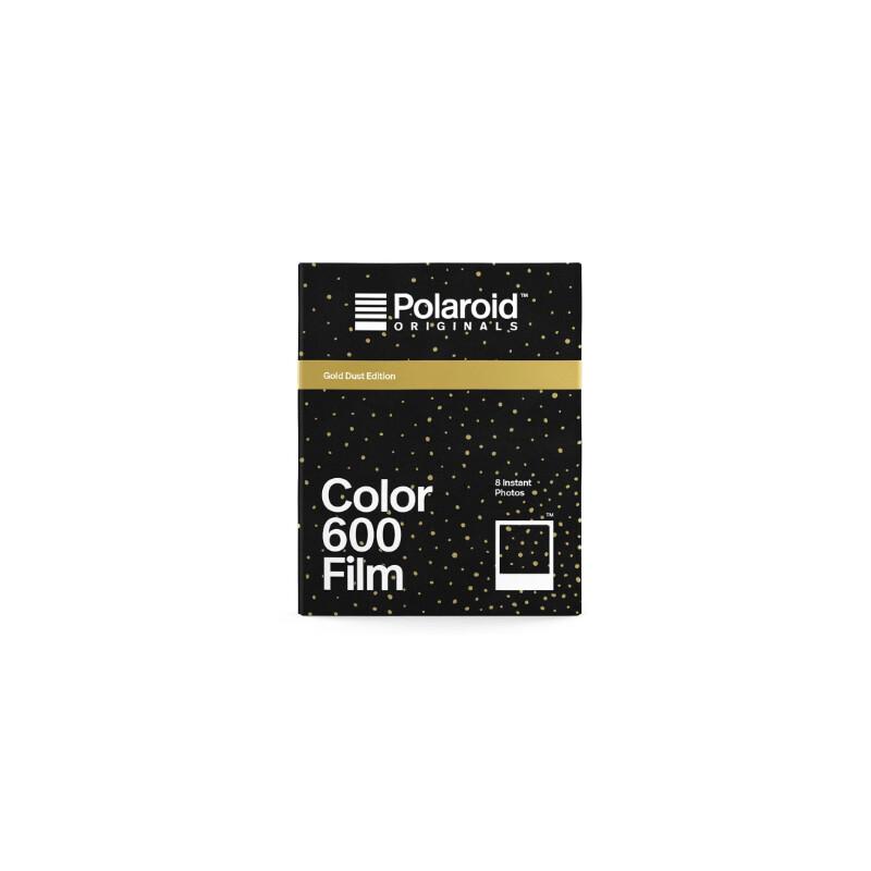 Polaroid 600 Color Gold Dust Edition