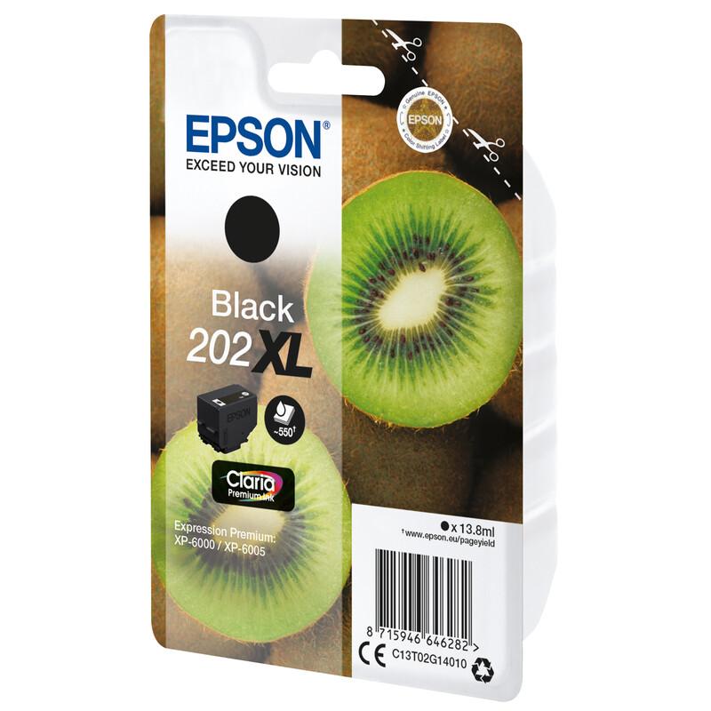 Epson 202XL T02G1 Tinte Black