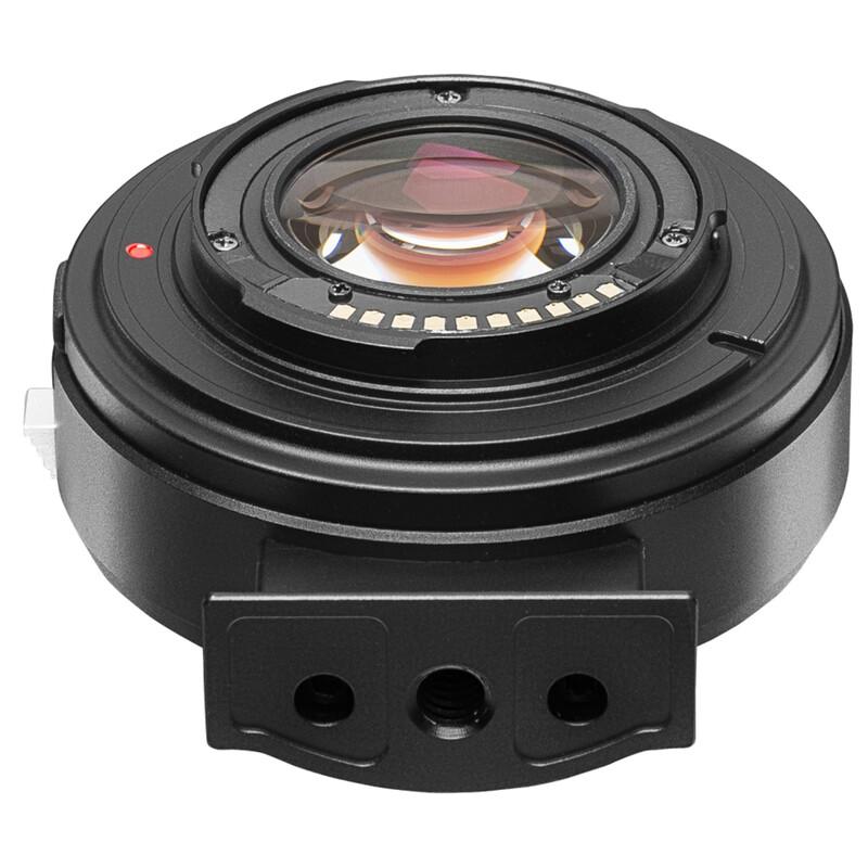 Kipon Baveyes AF Adapter Canon EF-Sony E x0,7 m. Support