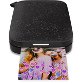 HP Sprocket mobiler Sofortbild Drucker schwarz