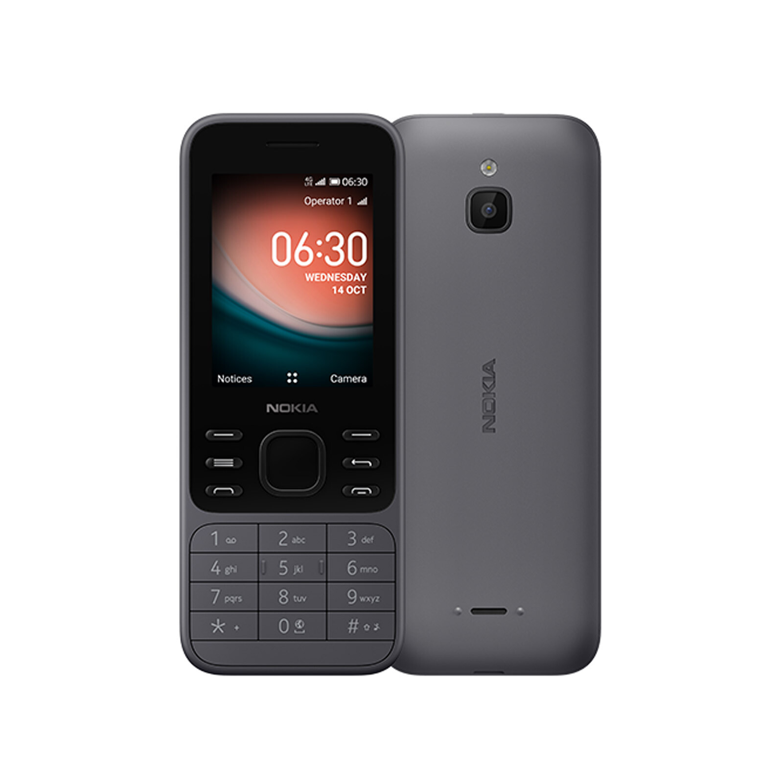 Nokia 6300 4G charcoal grau Dual-SIM