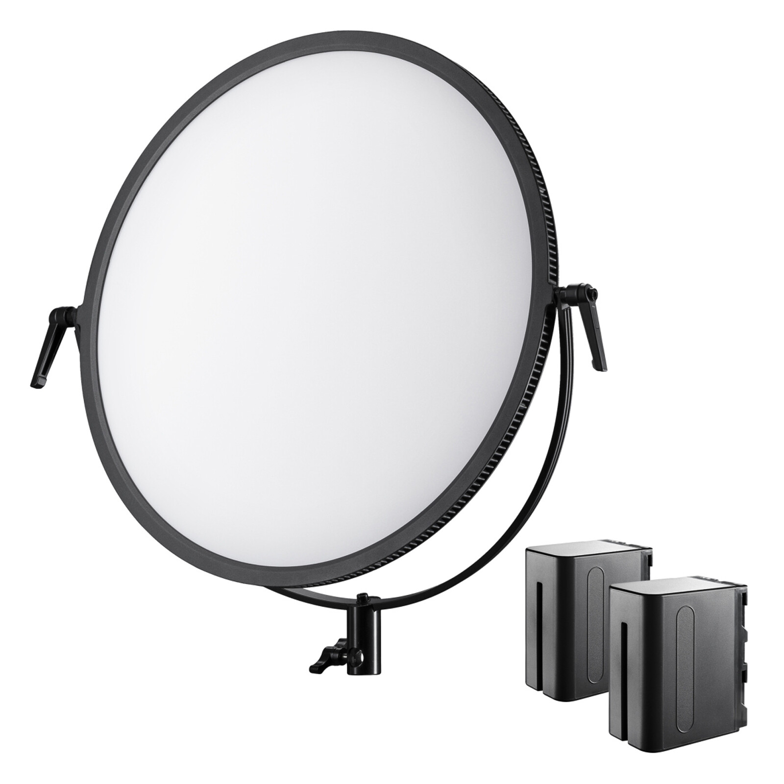 walimex pro Soft LED 700 Round Bi Color Set1