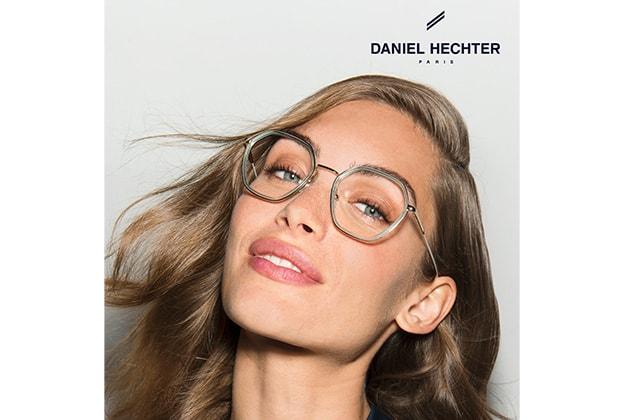 Frau mit markanter Brille von Daniel Hechter