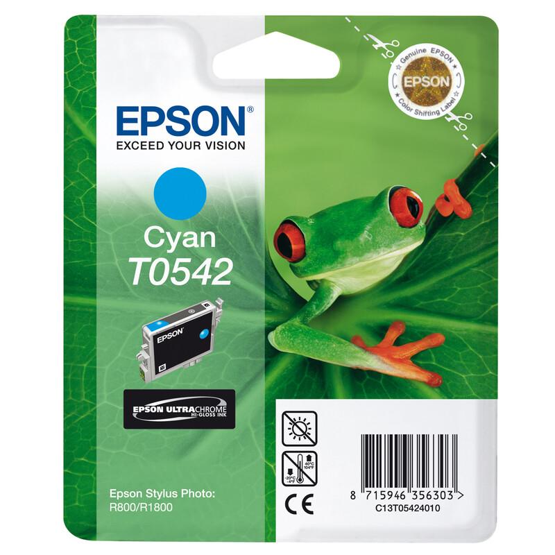 Epson T0542 Tinte Cyan 13ml