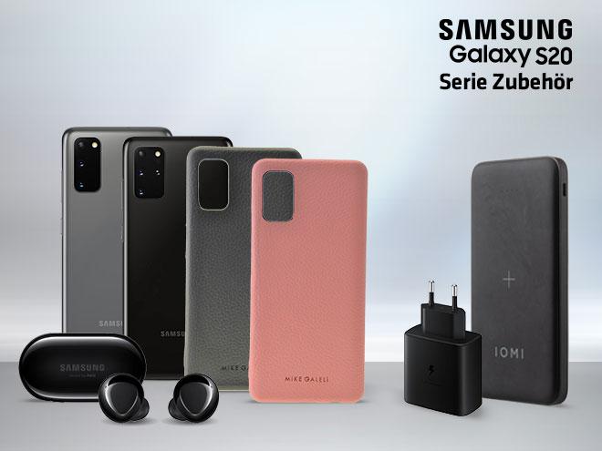 Zubehör für die Samsung Galaxy S20 Serie