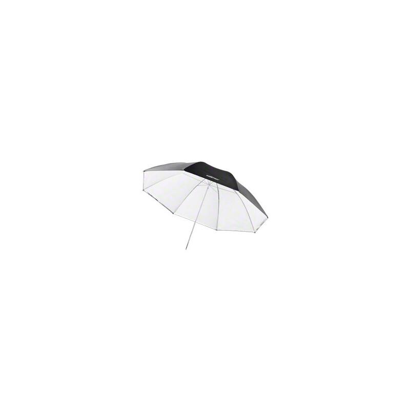 walimex pro 2in1 Reflex- Durchlichtschirm weiß 150