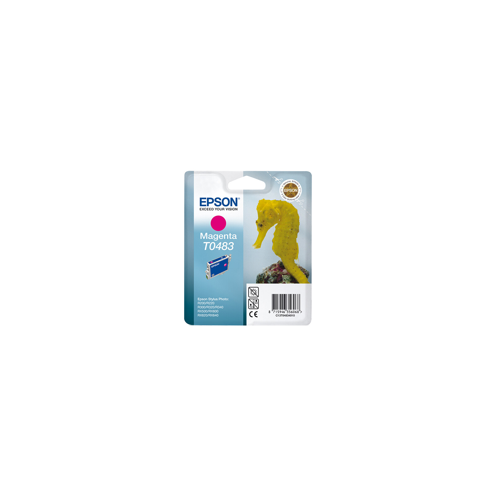 Epson T0483 Tinte Magenta 13ml