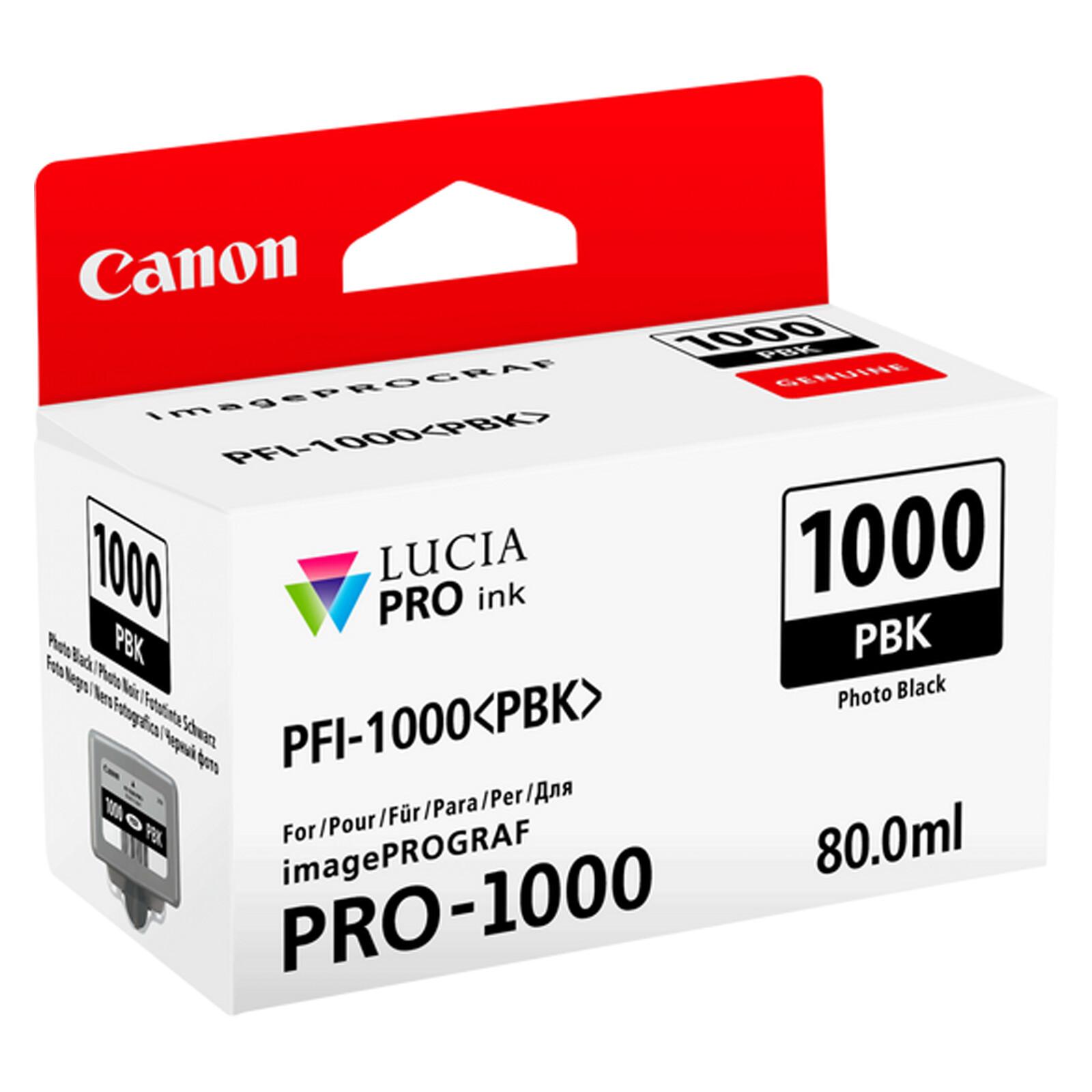Canon PFI1000PBK photo black imagePrograf Pro 1000