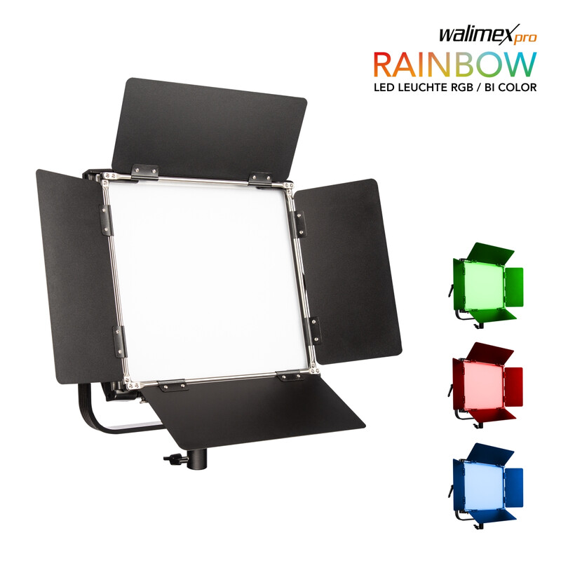 Walimex pro LED Rainbow 100W RGBWW Flächenleuchte