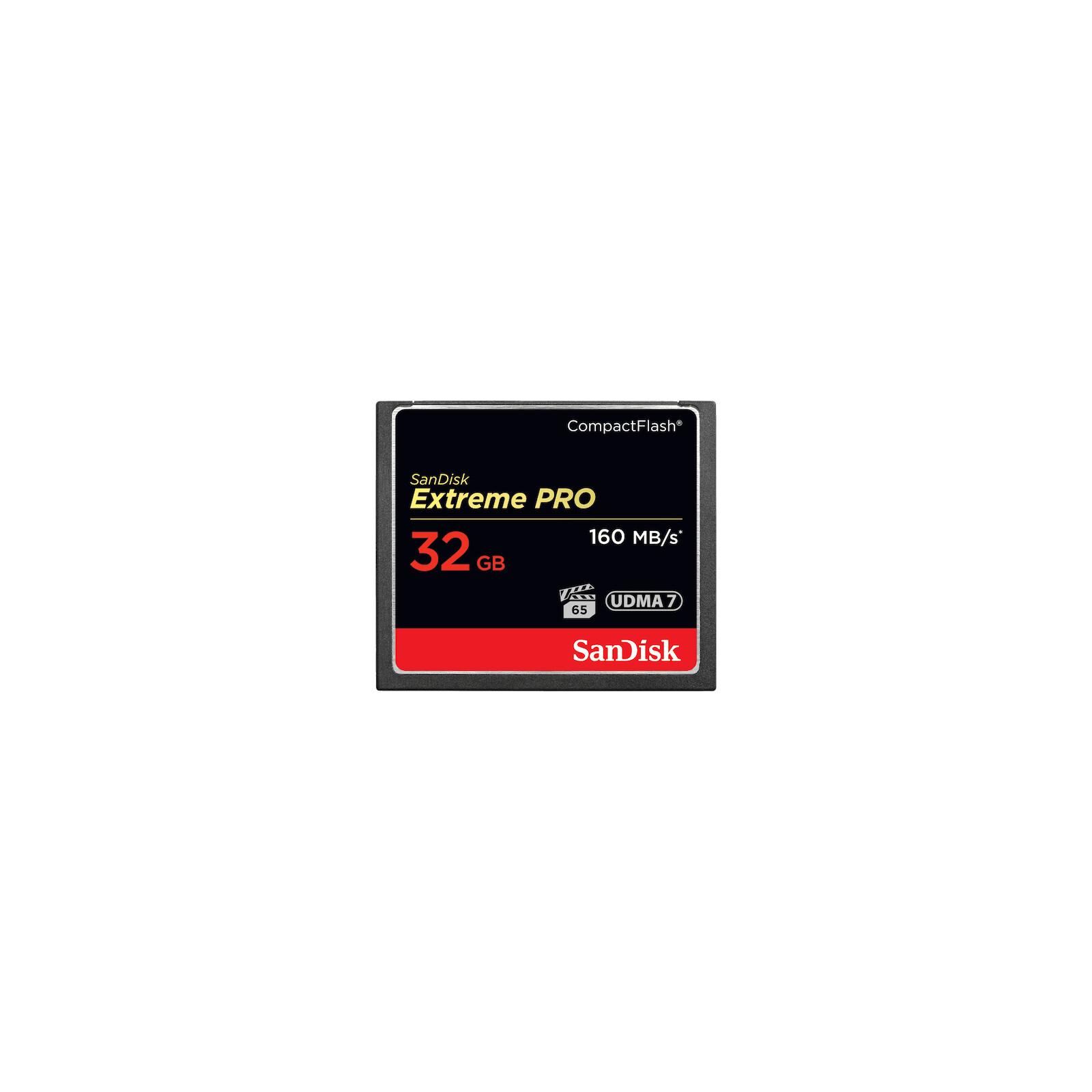 SanDisk 32GB Extr Pro 160MB UDMA7