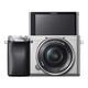 Sony ALPHA 6100 + SELP 16-50/3,5-5,6 OSS silber