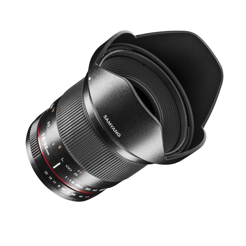 Samyang MF 20/1,8 Sony A