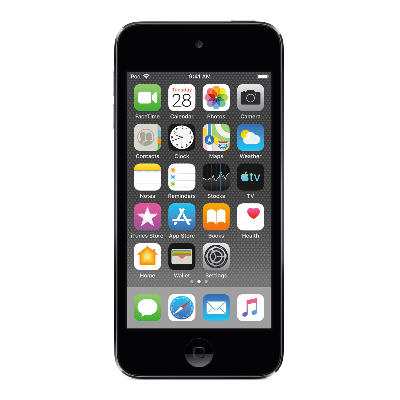 Apple iPod touch 2019 128GB spacegrau