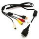 AGI 94573 USB-/AV-Verbindungskabel Sony DSC-W210