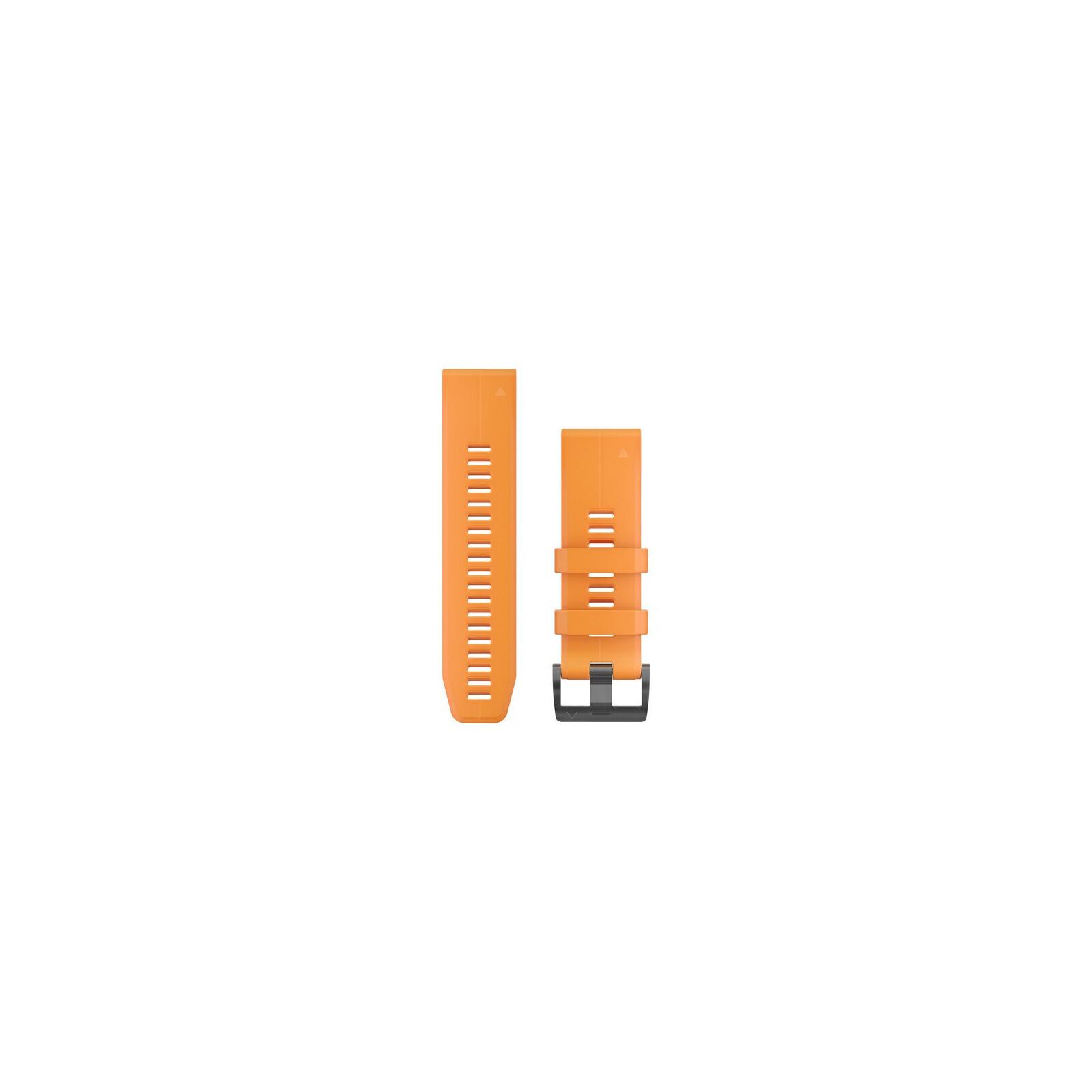 Garmin QuickFit 26 Band Solar Flare Orange Silikon