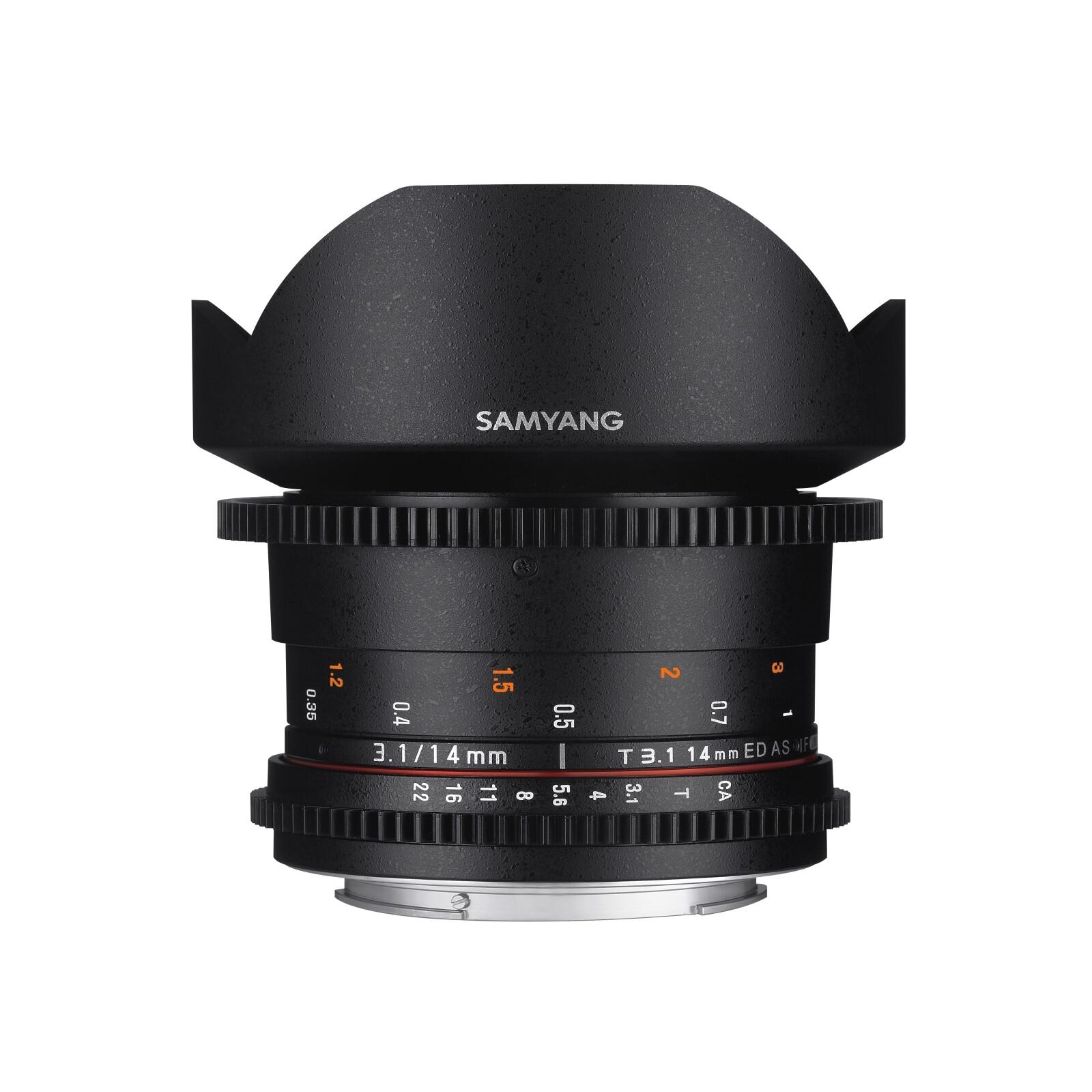 Samyang MF 14/3,1 Video DSLR II Nikon F