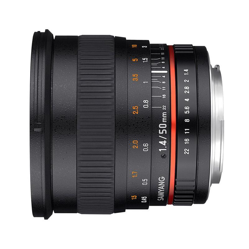 Samyang 50/1,4 DSLR Sony E + UV Filter