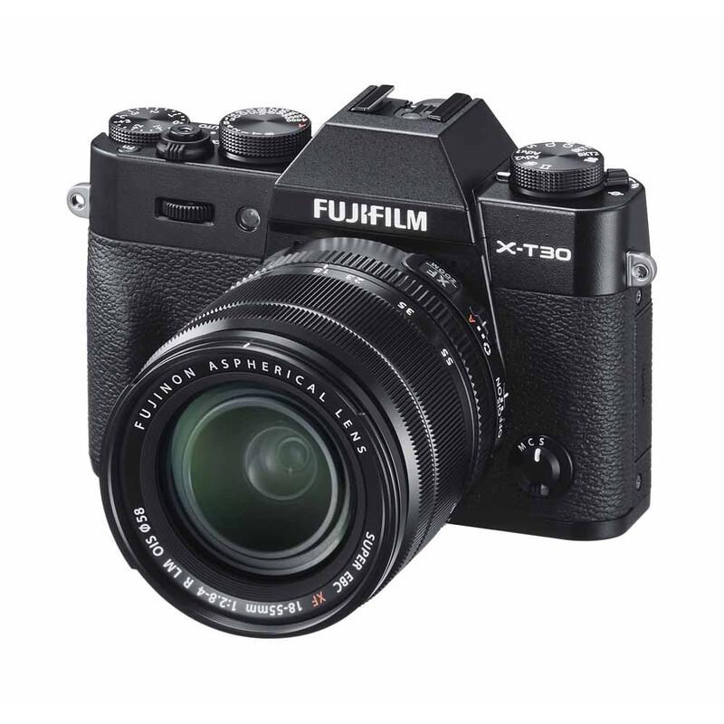 Fujifilm X-T30 mit Objektiv XF 18-55/2,8-4,0 R LM OIS Schwar