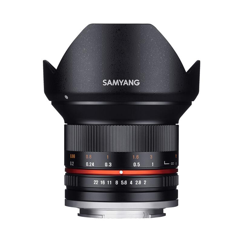 Samyang MF 12/2,0 Samsung NX schwarz