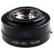 Kipon Baveyes Adapter Nikon F auf Sony E (0.7x)