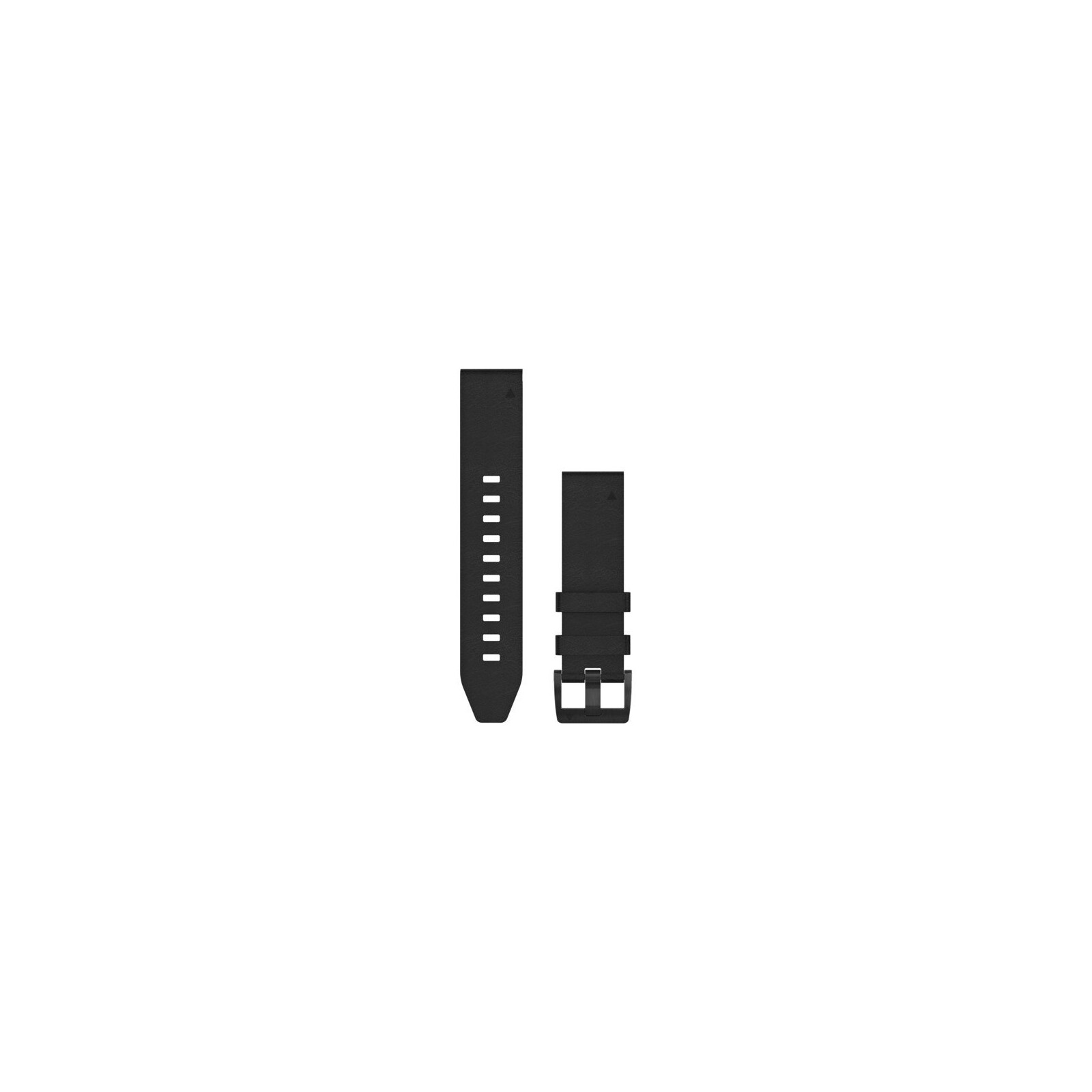 Garmin QuickFit 22 Uhrenband Leder Schwarz