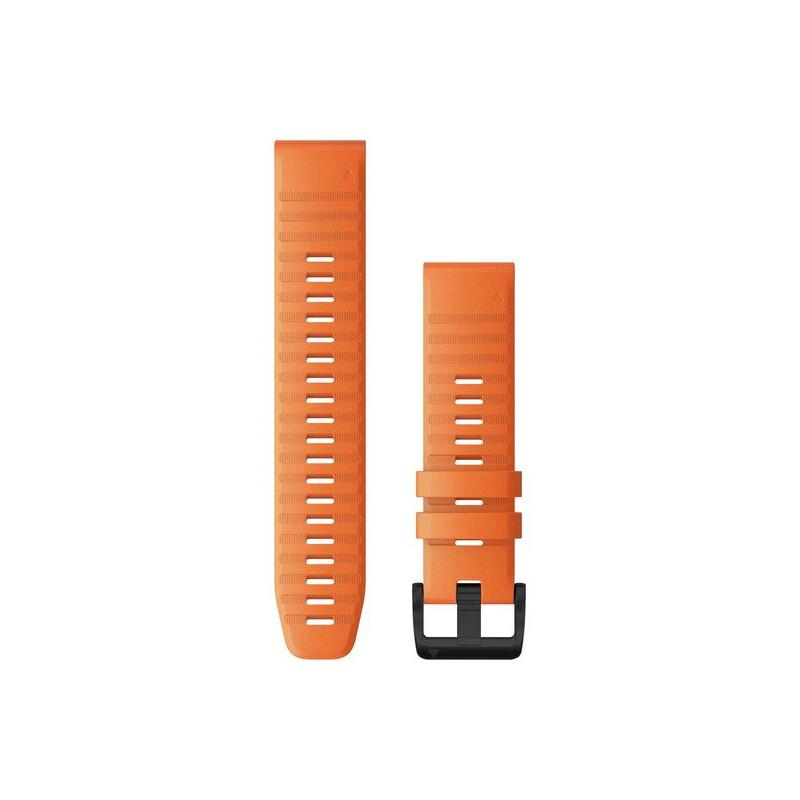 Garmin QuickFit 22 Uhrenband Silikon Ember Orange