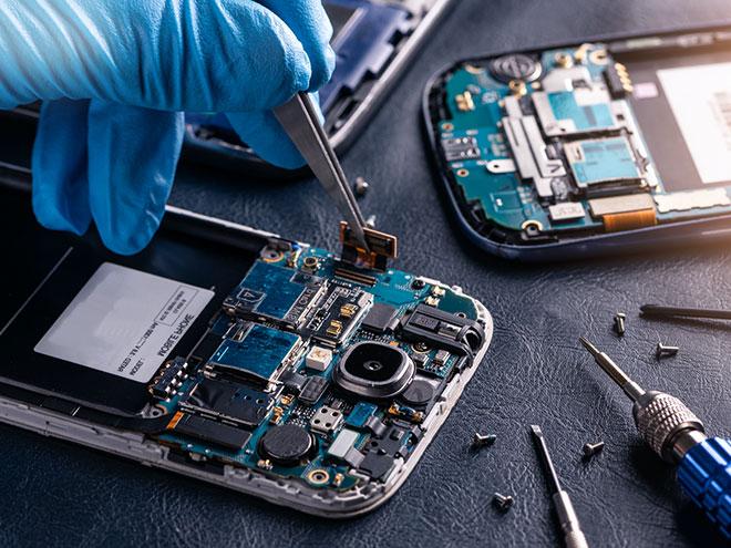 Reparatur-Service Handy