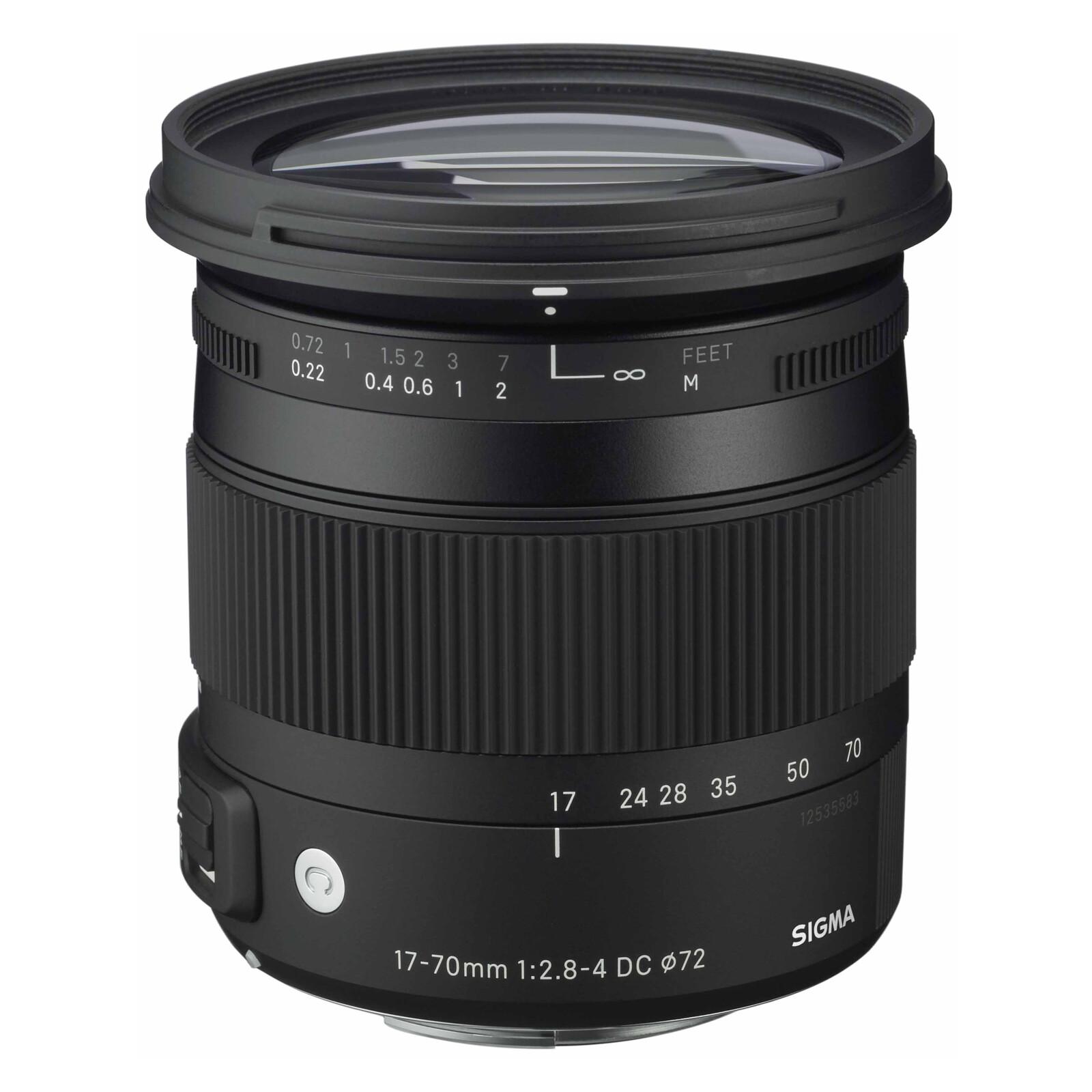 Sigma 17-70/2,8-4,0 DC Macro OS HSM Canon