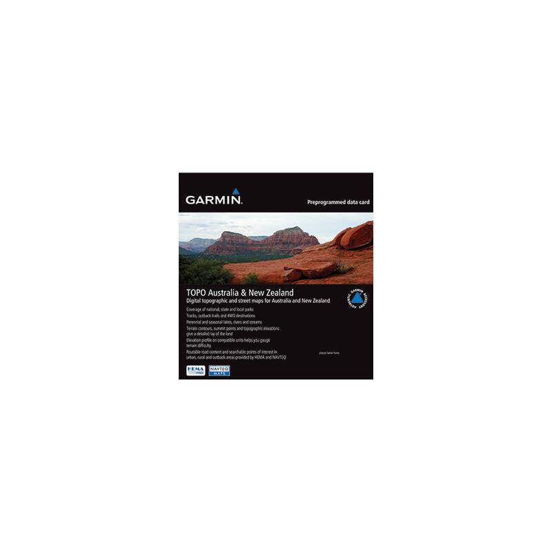 Garmin Topo Australia New Zealand microSD