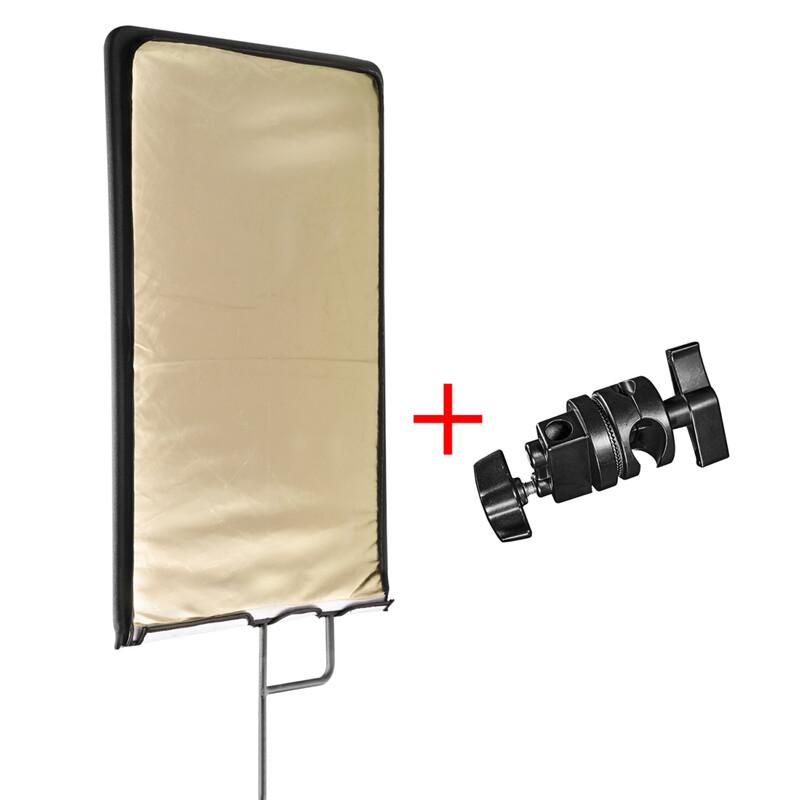 walimex pro 4in1 Reflektorpanel 60x75cm + Klemme