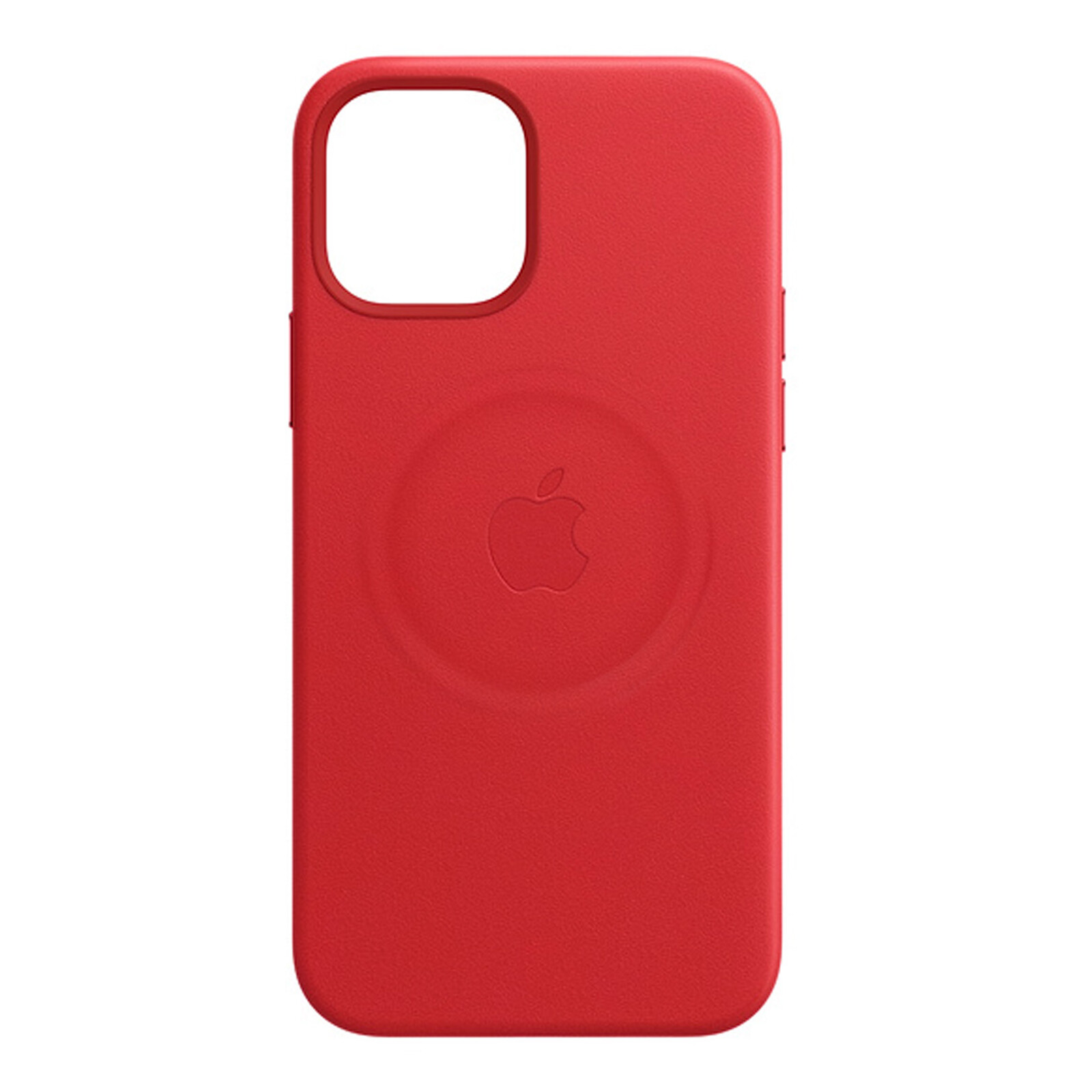 Apple iPhone 12 mini Leder Case mit MagSafe product red