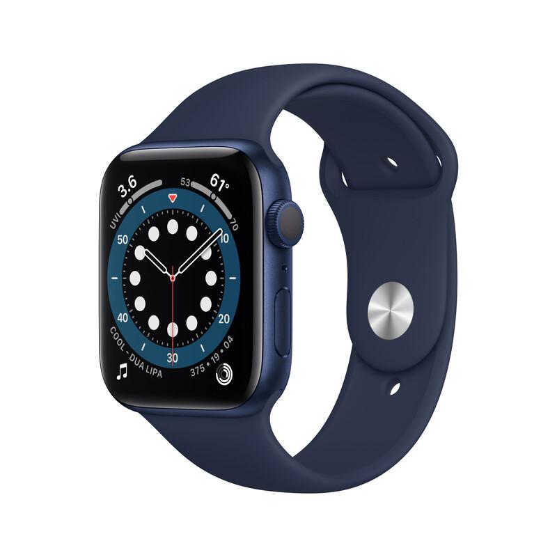 Apple Watch Series 6 GPS Alu blau 44mm dunkelmarine