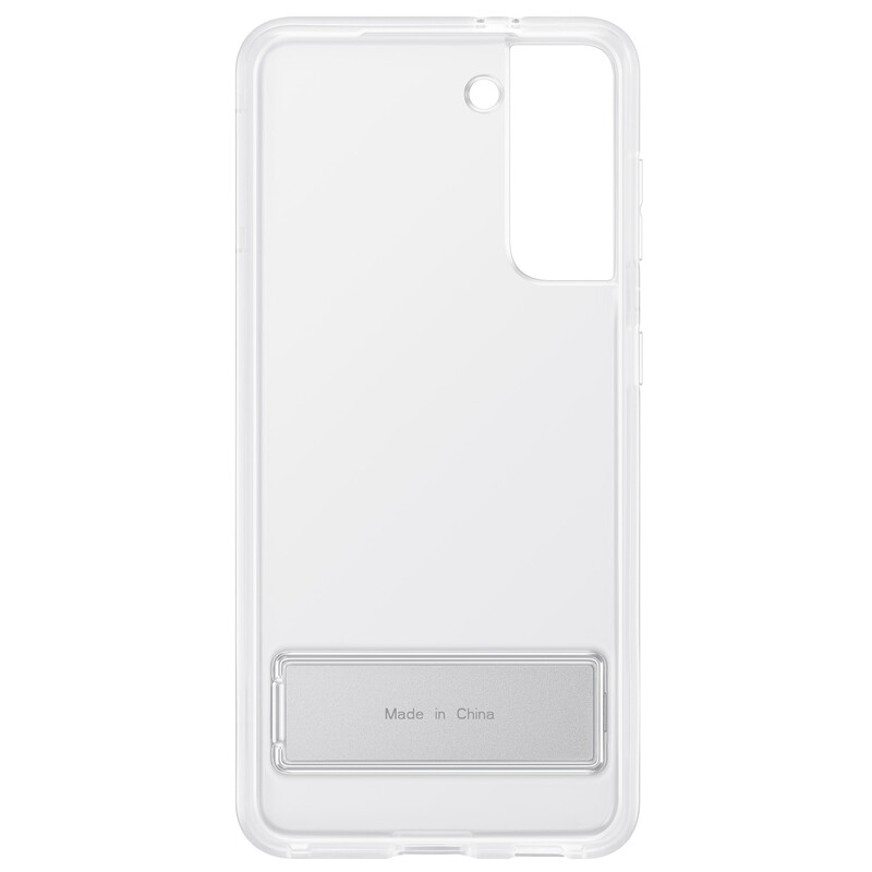 Samsung Back Cover Standing Galaxy S21 clear