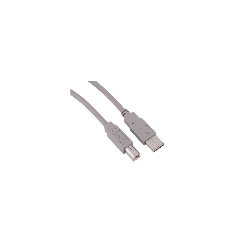 Hama 29195 USB-2.0-Kabel Grau 5m