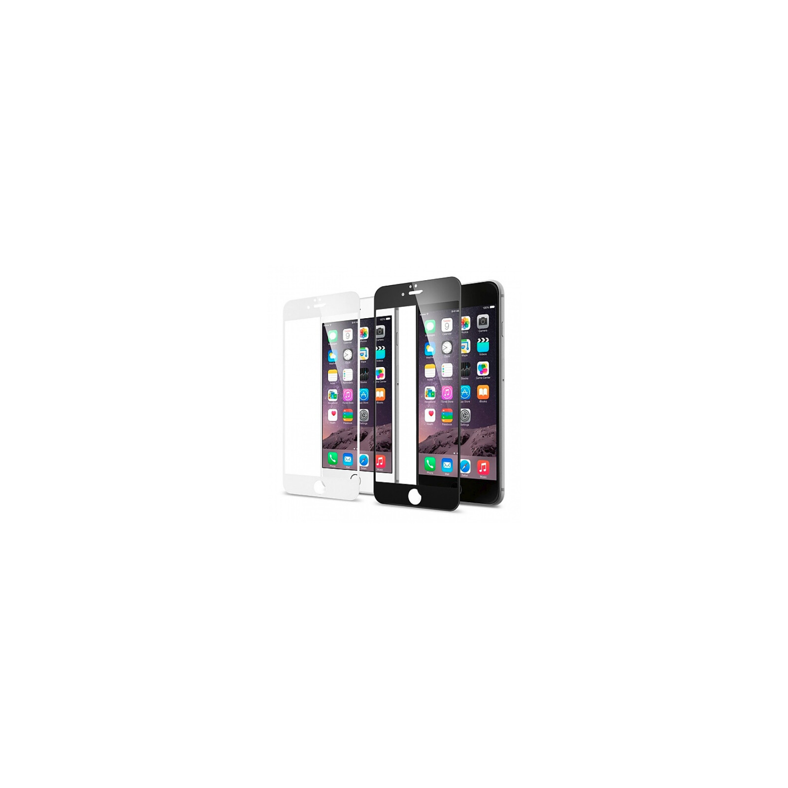 Axxtra Displayschutzfolie Diamantglas FULL Apple iPhone 6/6s