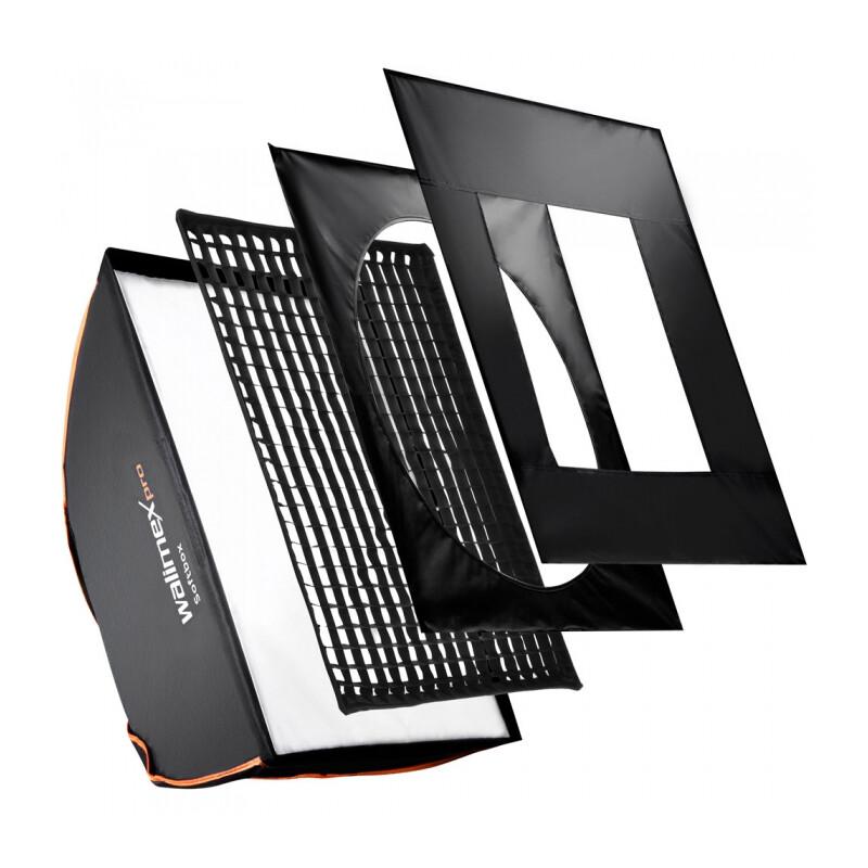 walimex pro Softbox PLUS OL 75x150cm &K