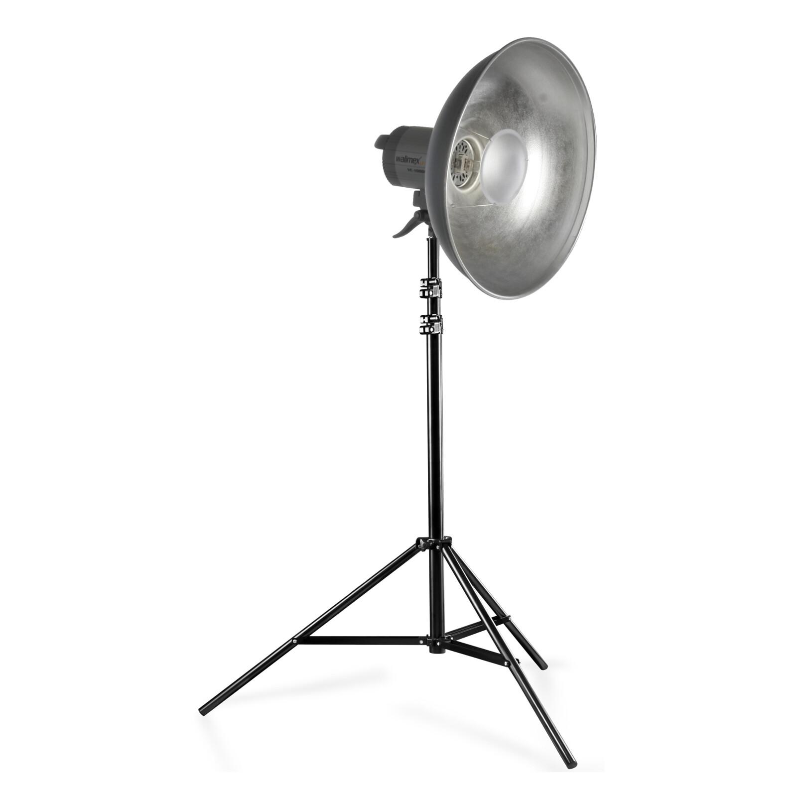 walimex pro Quarzlight VC-1000+Beauty Dish+WT-806