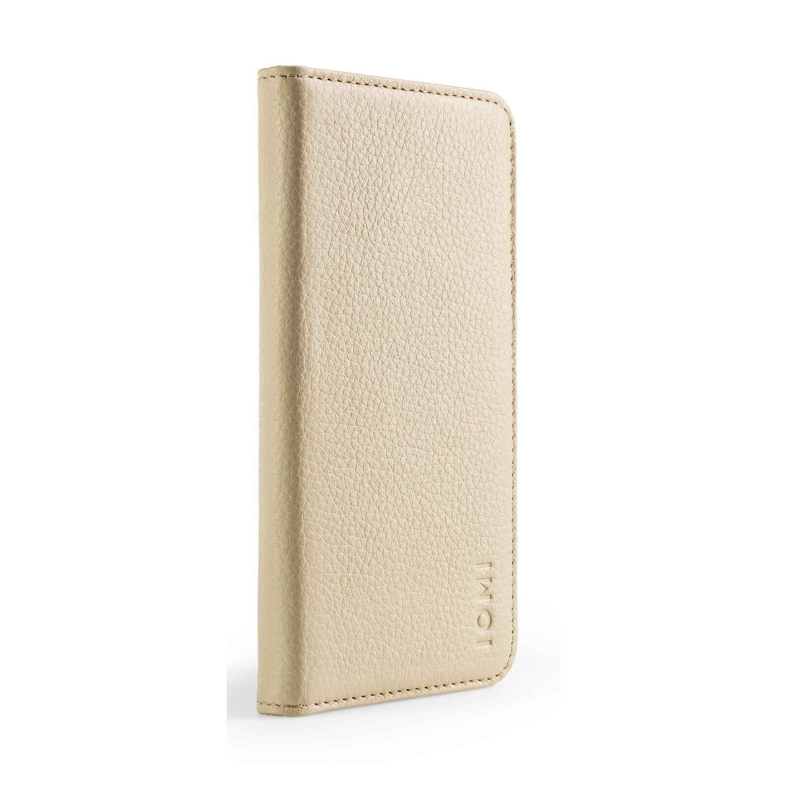 IOMI 2in1 Book Case Apple iPhone XS beige