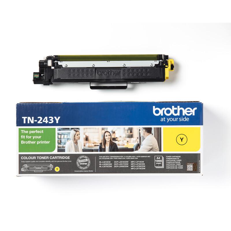 Brother TN-243Y 1K Toner yellow