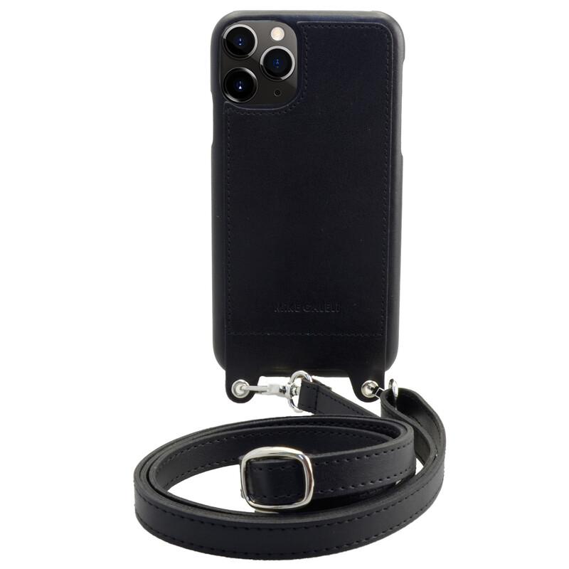 Galeli Backcover LENNY lite GO App iPhone 11Pro Band schwarz