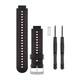 Garmin FR 230/235/630 Ersatzband Black/Marsala