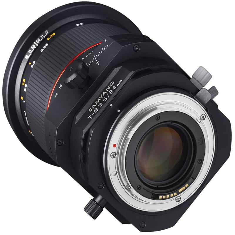 Samyang 24/3,5 DSLR T/S MFT + UV Filter