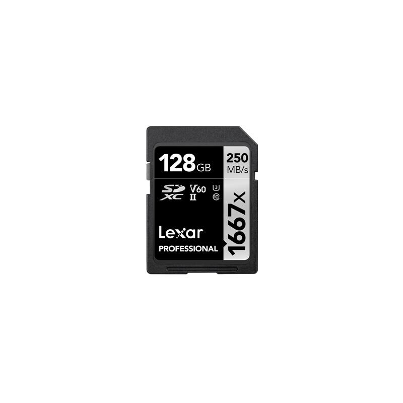 Lexar SDXC 128GB Professional UHS II U3 250Mb/s